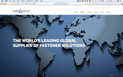 Infasco launches a new mobile friendly website